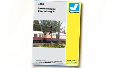 Sammelordner Oberleitung <br/>Viessmann 4390