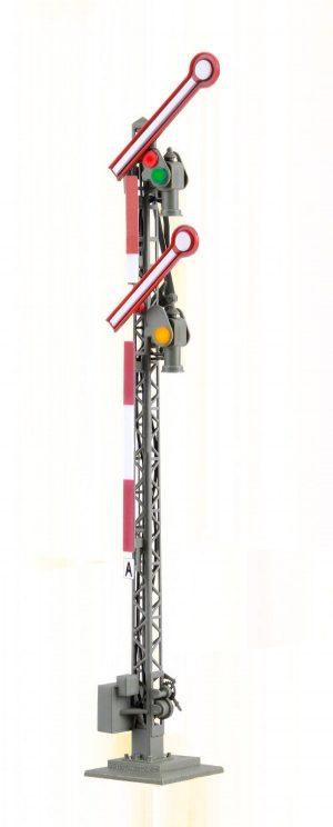 Form-Hauptsignal, digital, 2-flügelig, ungekoppelt <br/>Viessmann 4702