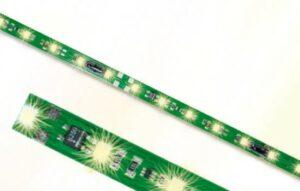 Waggon-Innenbeleuchtung 8 LEDs warmweiß <br/>Viessmann 5092