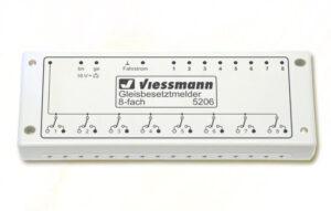 Gleisbesetztmelder, 8-fach <br/>Viessmann 5206