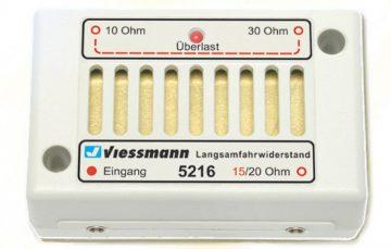 Elektronik, Langsamfahrwiderstand <br/>Viessmann 5216 1