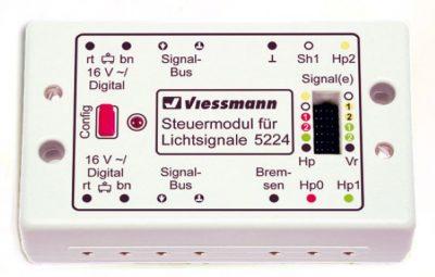 Zubehör-Decoder für Licht-Blocksignal <br/>Viessmann 5224