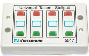 Tasten-Stellpult 2-begriffig <br/>Viessmann 5547