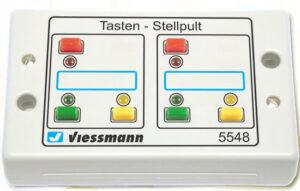 Tasten-Stellpult, rückmeldefähig <br/>Viessmann 5548