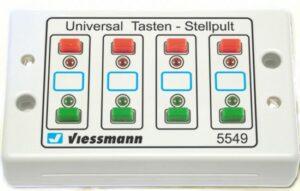 Universal-Tasten-Stellpult, rückmeldefähig <br/>Viessmann 5549
