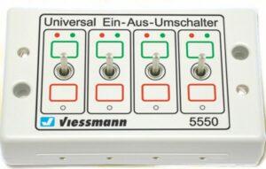 Universal Ein-Aus-Umschalter <br/>Viessmann 5550