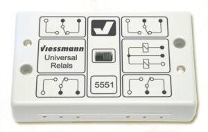 Universal Relais 1x4UM <br/>Viessmann 5551