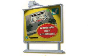 Werbetafel mit LED-Beleucht <br/>Viessmann 6336
