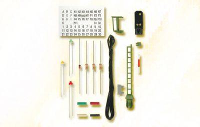 Licht-Einfahrsignal, Bausatz, wie 4912 <br/>Viessmann 7732