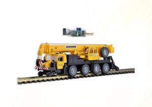 Zweiwege-Mobilkran LTM mit <br/>kibri 10558