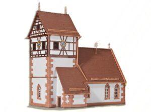 Kirche Schanbach <br/>kibri 37027