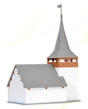 Dorfkirche Sertig <br/>kibri 37031