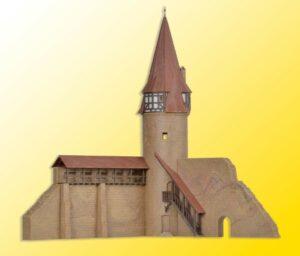 Rundturm mit Mauer in Markt <br/>kibri 37109