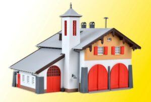 Feuerwehr mit Dorfgemeinsc <br/>kibri 39214