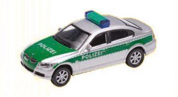 BMW 330i Polizei, silber <br/>Vollmer 41630 1