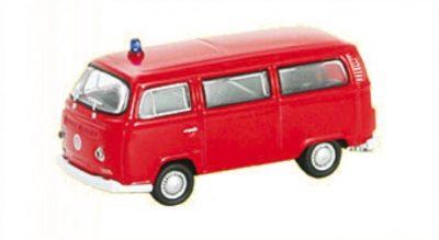 VW Bus T2, rot, Fertigmode <br/>Vollmer 41689