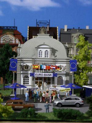 Euro-Bank mit Euro-Sonnens <br/>Vollmer 42002