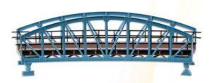 Brücke, Stahlbogenbrücke, gebogen <br/>Vollmer 42540