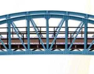 Brücke, Stahlbogenbrücke, gebogen Vollmer 42540