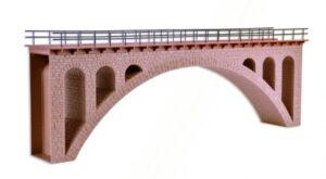 Brücke, Mauersteinbrücke, gerade <br/>Vollmer 42549