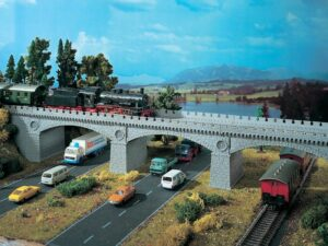 Brücke, Steinbogenbrücke <br/>Vollmer 42551