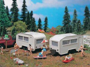 Wohnwagen, 2 Stück <br/>Vollmer 45147