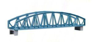 Brücke, Stahlbogenbrücke, gerade <br/>Vollmer 47302