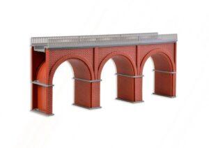 Brücke, Backstein-Viadukt, gerade <br/>Vollmer 47313