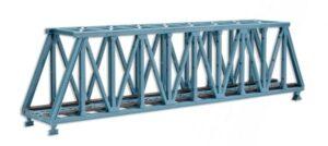 Brücke, Stahlbrücke, Kasten-Brücke, gerade <br/>Vollmer 47801