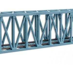 Brücke, Stahlbrücke, Kasten-Brücke, gerade Vollmer 47801