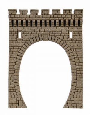Tunnel-Portal, 1-gleisig <br/>Vollmer 48100