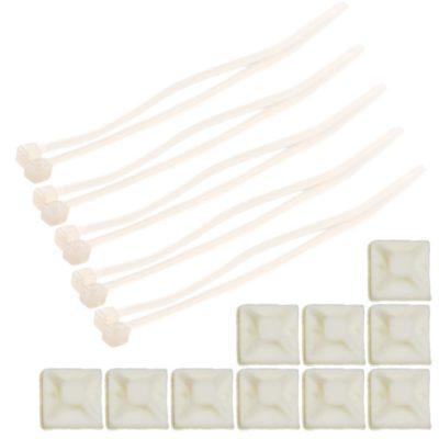 Set Kabelsockel inkl. Kabelbinder <br/>TOY-TEC 17001