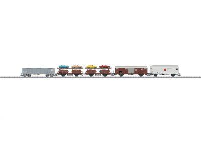 Güterwagen-Set Rangier-Krokodil <br/>TRIX 23567