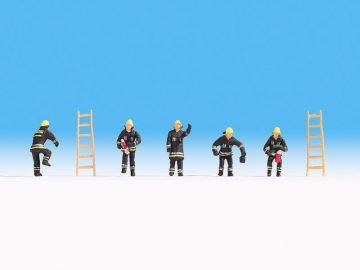 Feuerwehr Schutzanzug schwarz, N <br/>NOCH 36021 1