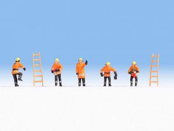 Feuerwehr Schutzanzug orange, N <br/>NOCH 36022 1