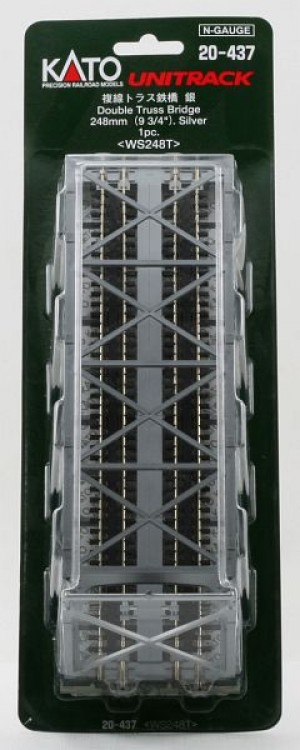 Kastenbrücke 2gleisig         <br/>KATO 7077213