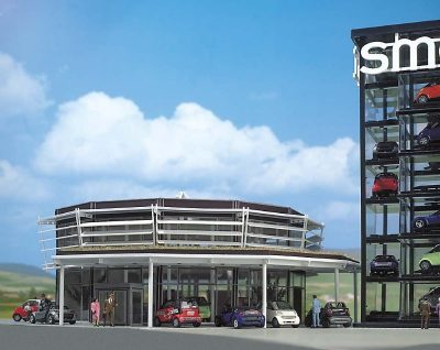 Smart Verkaufsgebäude <br/>BUSCH 1000