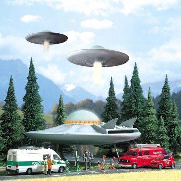 UFO (Fliegende Untertasse) <br/>BUSCH 1010 1