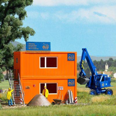 Baustellen-Container, 2 Stück <br/>BUSCH 1036