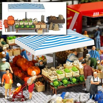 Marktstand »Gemüse« <br/>BUSCH 1070 1