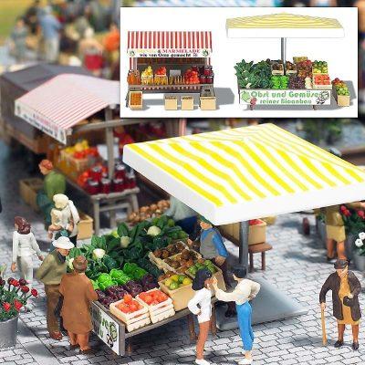 Marktstand »Obst&Gemüse« <br/>BUSCH 1071