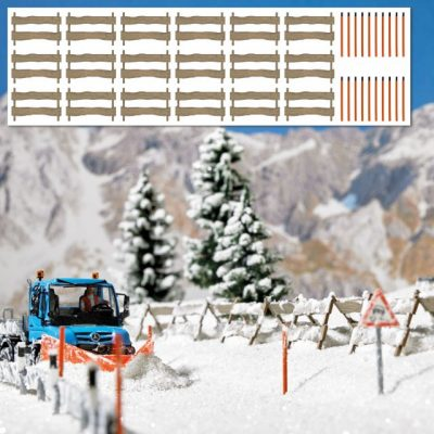 Schneefangzäune usw. H0       <br/>BUSCH 1120
