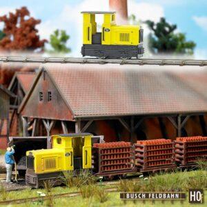 Diesel-Lokomotive »Gmeinder 15/18« <br/>BUSCH 12110