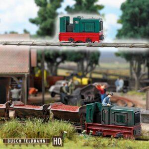 Diesel-Lokomotive »Gmeinder 15/18« <br/>BUSCH 12115