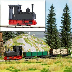Dampf-Lokomotive »Decauville« Typ 3 <br/>BUSCH 12140