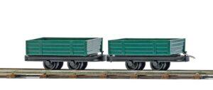 Niederbordwagen, 2 Stück <br/>BUSCH 12206