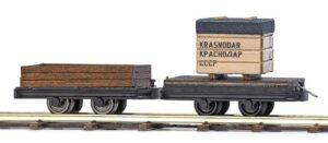 Transportwagen, 2 Stück <br/>BUSCH 12207