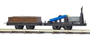 Niederbord- und Schweißwagen <br/>BUSCH 12217