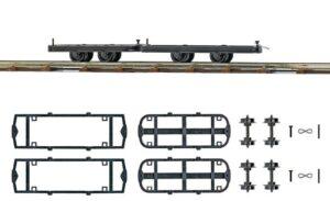 Fahrwerke zum Umbauen, 2 Stück <br/>BUSCH 12295