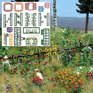 »Natur Pur« Blumen- und Pflanzen-Set <br/>BUSCH 1258
